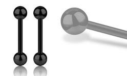 Black Steel Barbells