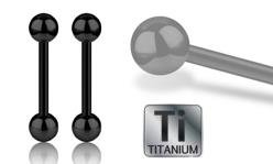 Black Titanium Barbells
