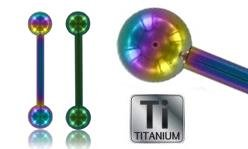 Color Titanium Barbells