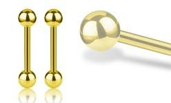 Gold Steel Barbells