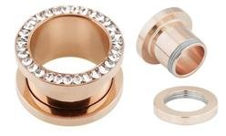 Rosegold Steel Tunnel