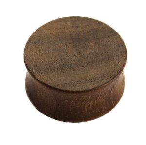 Holz - Plug - Braun - Ami Nussbaum Wood - 8 mm