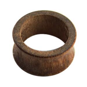 Holz - Flesh Tunnel - Braun - Ami Nussbaum Wood - 10 mm