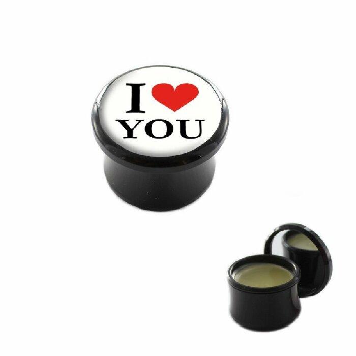 Tunnelpflege - Motiv I love You
