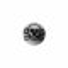 Acryl - Schraubkugel - Totenkopf Symbol - 10er Pack