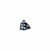 Acryl - Schraubspitze - Schachbrett Motiv - 10er Pack