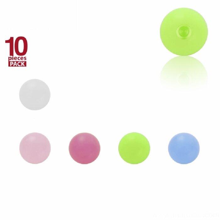 Acryl - Schraubkugel - UV - 10er Pack