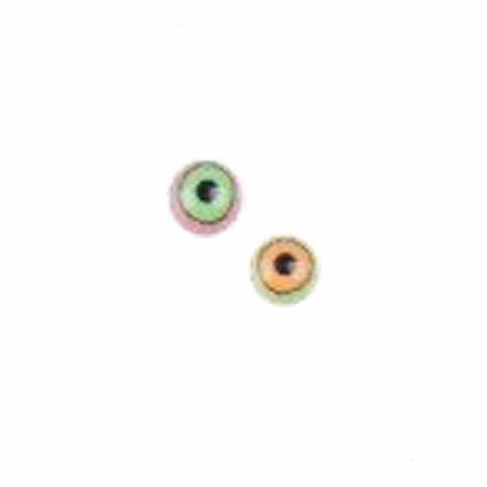 Acryl - Schraubspitze - Motiv Auge - 10er Pack