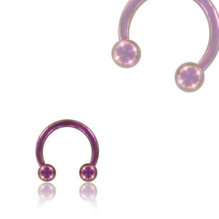 Color Titan - CBR Hufeisen - pink