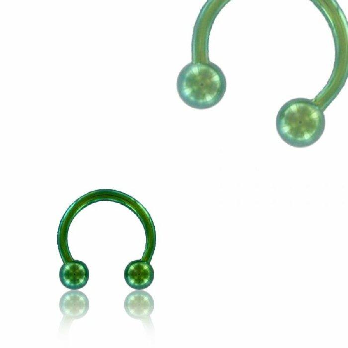 Color Titan - CBR Hufeisen - grün