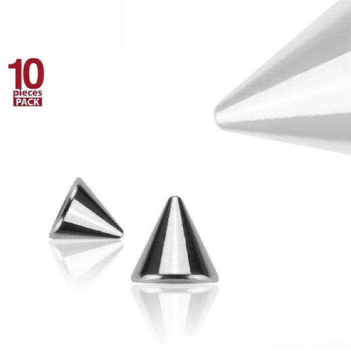 Stahl - Schraubspitze - 10er Pack