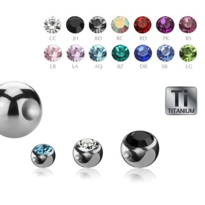 Titan - Klemmkugel - Kristall