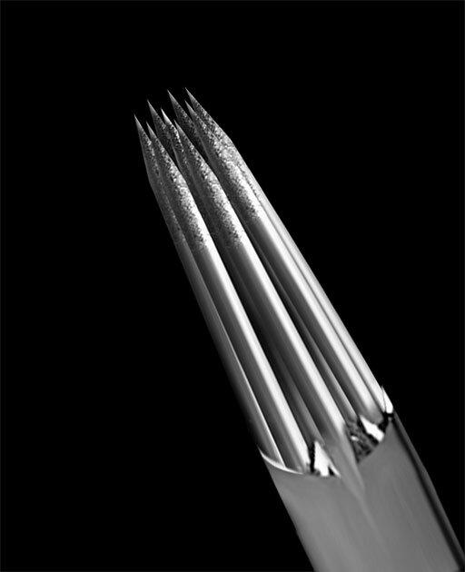 0.35 Round Liner - Medium Taper - Kwadron - mehrere Größen wählbar