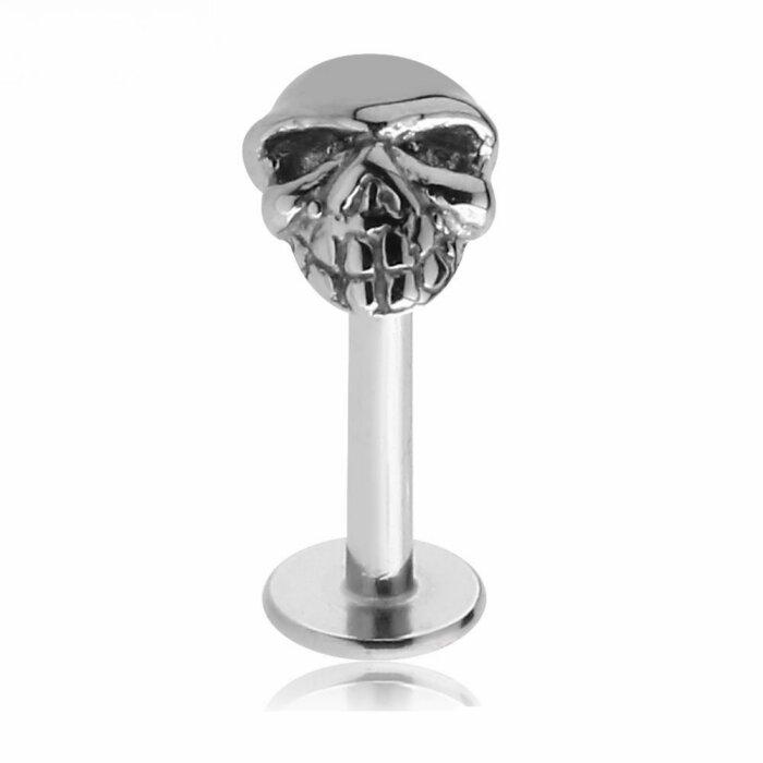 Stahl - Labret - Totenkopf