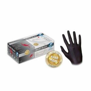 Latex - Handschuhe - schwarz - 100 Stk. - puderfrei -...
