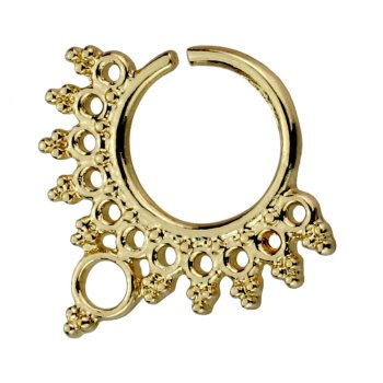 Brass - Septum - biegbar - Ornament