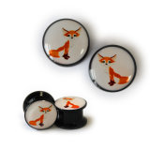 Acrylic - Plug - fox