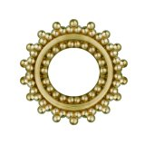 Brass - Tunnel - Ornament - Gummi