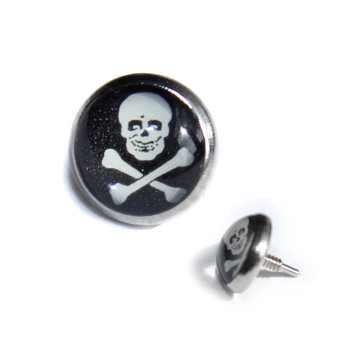 Titan - Dermal Anchor - Totenkopf - 1,0 mm