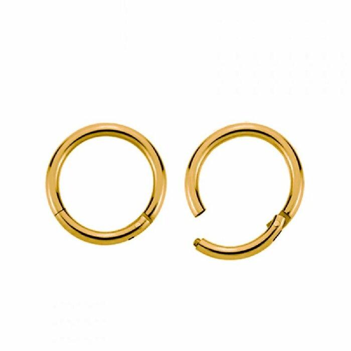 Gold Steel - Segment Clicker 1,2 mm 8 mm