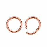 Rosegold Steel - Segment Clicker 1,2 mm 7 mm