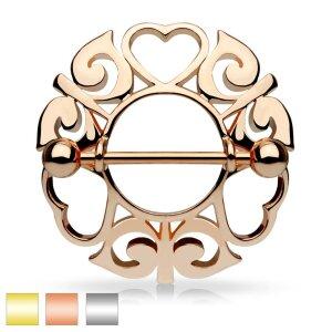 Stahl - Nipple Shield - Herzen