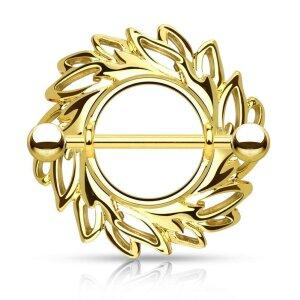 Stahl - Nipple Shield - Wirbel