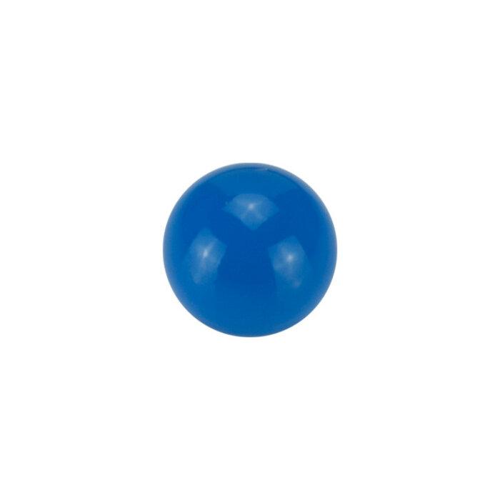 Stahl - Schraubkugel - blau - Supernova Concept