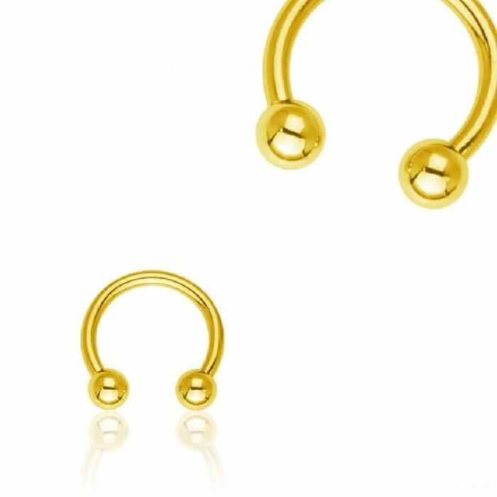 Gold Steel - CBR Hufeisen