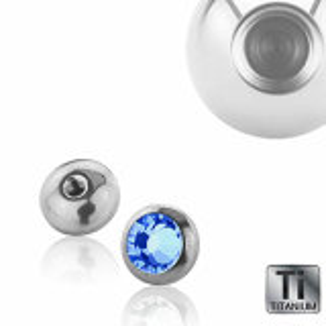 Titanium - rounddisc - crystal