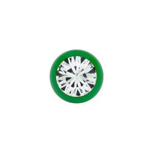 Stahl - Schraubkugel - Grün - Kristall - SWAROVSKI Supernova Concept
