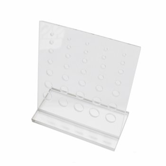 Acryl - Display - für Tunnel, Expander & Taper - Transparent - 12x11,5 cm
