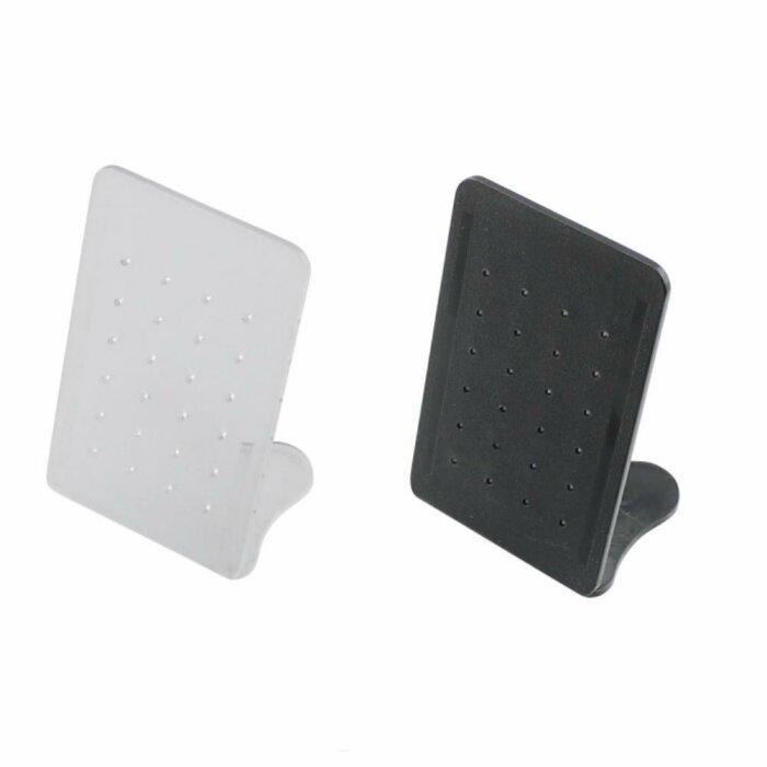 Acryl - Display - für Ohrstecker, Fake Plugs, Labrets  - 8x4,5 cm
