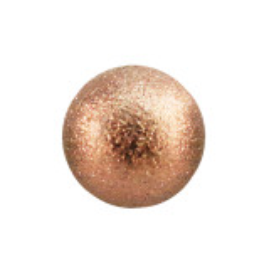 Rosegold Steel - Schraubkugel - Diamantoptik