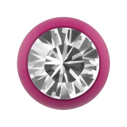 Stahl - Schraubkugel - Pink - Kristall - SWAROVSKI Supernova Concept