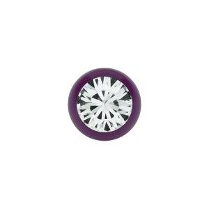 Stahl - Schraubkugel - Lila - Kristall - SWAROVSKI Supernova Concept