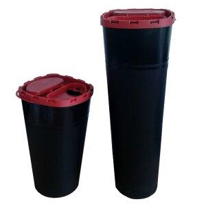 Abwurfbehälter - schwarz - Unigloves