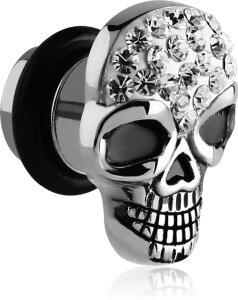 Steel - Fake Plug - skull