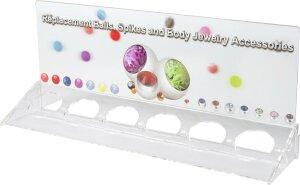 Acryl - Display - für Ersatzkugeln - LEER