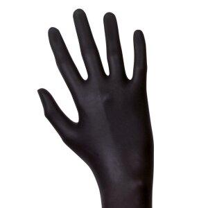 Latex - Handschuhe - schwarz - 100 Stk. - Unigloves Black...