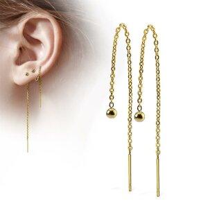 Ferido Ear pendant - 10 mm - with easy lock