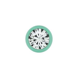 Stahl - Schraubkugel - Pastell Grün - Kristall -...