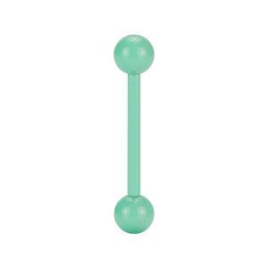 Steel - Mini-Barbell - pastel green - Supernova Concept -...