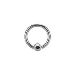 Stahl - Mini BCR Klemmring - 1,2 mm - Supernova Concept