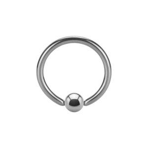 Steel - BCR ball closure ring - 1,6 mm - Supernova Concept