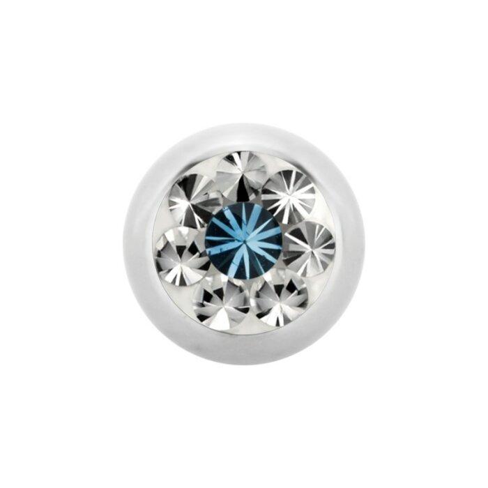 Stahl - Schraubkugel - Epoxy - Kristall - SWAROVSKI - Supernova Concept