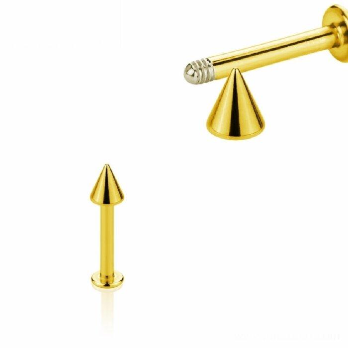 Gold Steel - Labret - Spitze