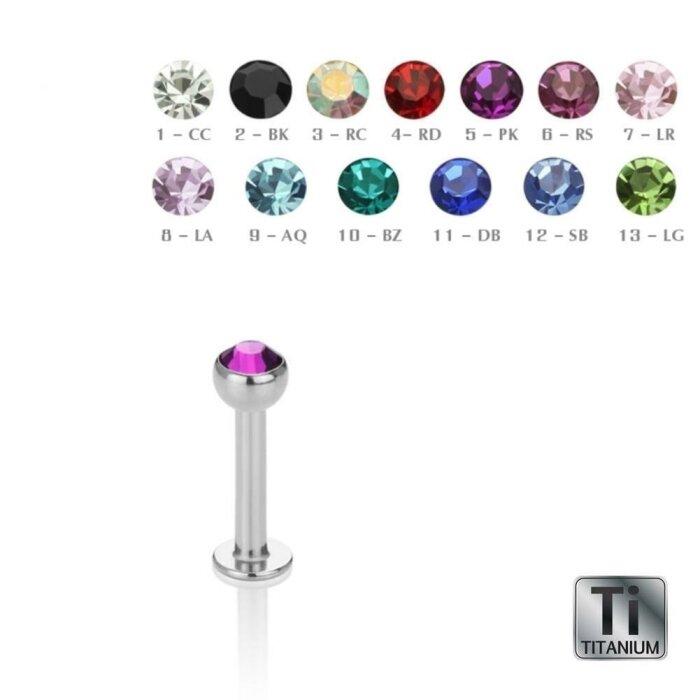 Titan - Labret - Kristall