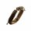Armband - Lederoptik - Braun