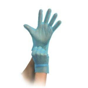 Einmal Handschuhe - blau - puderfrei - MaiMed-evolution